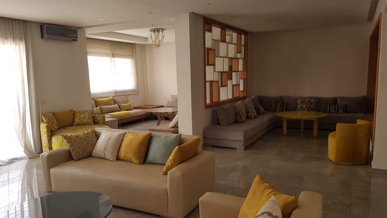 Splendide appartement meublé en location à Agdal